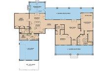 Country Floor Plan - Main Floor Plan Plan #923-49
