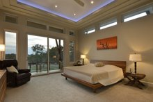 Architectural House Design - Contemporary Interior - Master Bedroom Plan #935-18