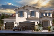 Southern Style House Plan - 4 Beds 3.5 Baths 2324 Sq/Ft Plan #1073-21 Exterior - Front Elevation