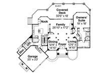 Floor Plan - Main Floor Plan Plan #124-884