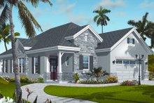 Home Plan - Cottage Exterior - Front Elevation Plan #23-2214