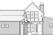 Modern Style House Plan - 3 Beds 2 Baths 1639 Sq/Ft Plan #895-108 Exterior - Front Elevation