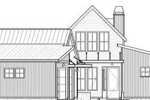 Architectural House Design - Modern Exterior - Front Elevation Plan #895-108