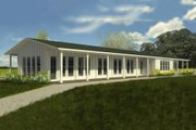 Ranch Style House Plan - 3 Beds 3 Baths 3645 Sq/Ft Plan #888-6