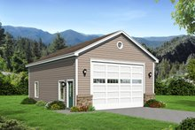 Dream House Plan - Country Exterior - Front Elevation Plan #932-245
