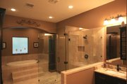 Ranch Style House Plan - 3 Beds 2.5 Baths 2693 Sq/Ft Plan #140-149 Interior - Master Bathroom