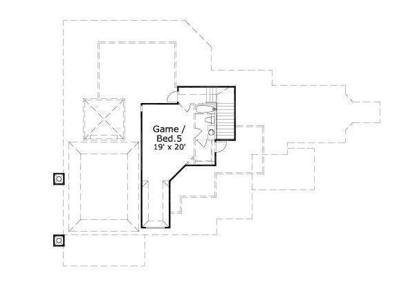 European Floor Plan - Other Floor Plan #411-696