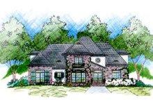 Dream House Plan - European Exterior - Front Elevation Plan #36-446