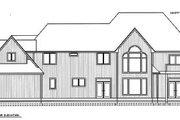European Style House Plan - 4 Beds 4.5 Baths 4722 Sq/Ft Plan #97-212 Exterior - Rear Elevation