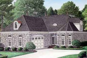 Home Plan - Southern Exterior - Front Elevation Plan #34-185