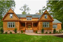 Home Plan - Country Exterior - Front Elevation Plan #137-280