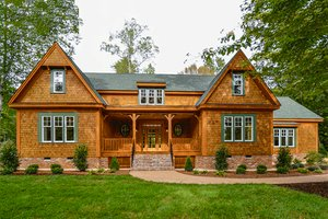 Country Exterior - Front Elevation Plan #137-280
