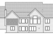 Craftsman Style House Plan - 4 Beds 2.5 Baths 4289 Sq/Ft Plan #51-575 Exterior - Rear Elevation
