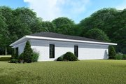 Contemporary Style House Plan - 3 Beds 2 Baths 1438 Sq/Ft Plan #923-140 Exterior - Other Elevation