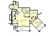 Craftsman Style House Plan - 3 Beds 2.5 Baths 5150 Sq/Ft Plan #921-26 Floor Plan - Lower Floor Plan