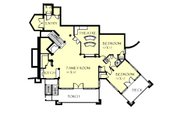 Craftsman Style House Plan - 3 Beds 2.5 Baths 5150 Sq/Ft Plan #921-26 Floor Plan - Lower Floor Plan