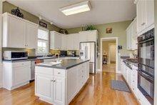Classical Interior - Kitchen Plan #137-124