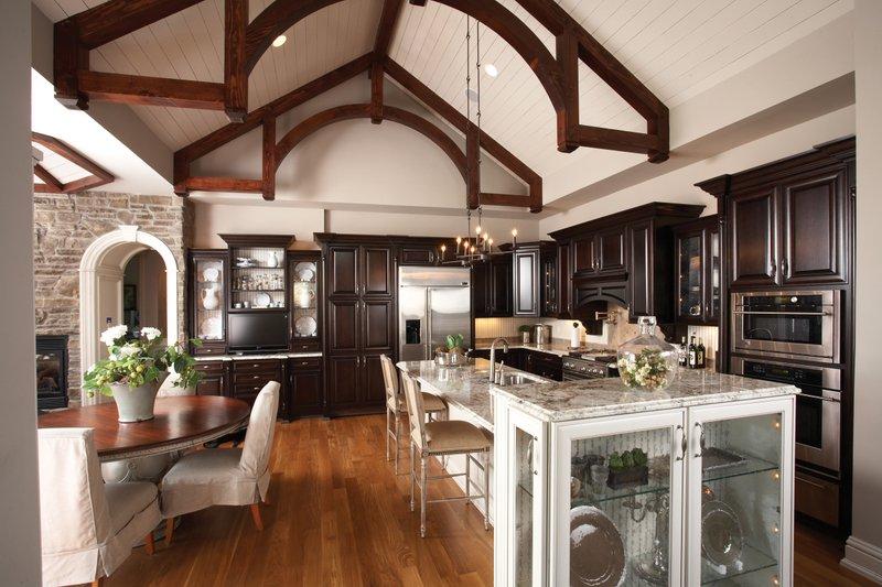Craftsman Interior - Kitchen Plan #70-1040 - Houseplans.com