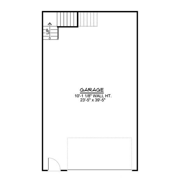 Architectural House Design - Country Floor Plan - Main Floor Plan #1064-85