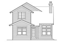 Traditional Exterior - Rear Elevation Plan #48-317
