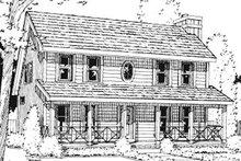 Farmhouse Exterior - Front Elevation Plan #20-750