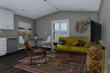 Dream House Plan - Traditional Interior - Family Room Plan #1060-97