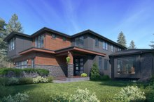 Architectural House Design - Contemporary Exterior - Other Elevation Plan #1066-117
