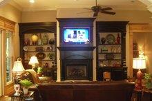 Craftsman Interior - Family Room Plan #430-148