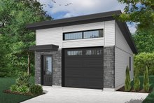 Contemporary Exterior - Front Elevation Plan #23-2634