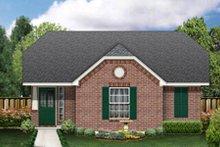 Dream House Plan - Cottage Exterior - Front Elevation Plan #84-453
