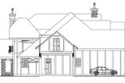 Tudor Style House Plan - 3 Beds 2.5 Baths 5024 Sq/Ft Plan #124-748 Exterior - Other Elevation
