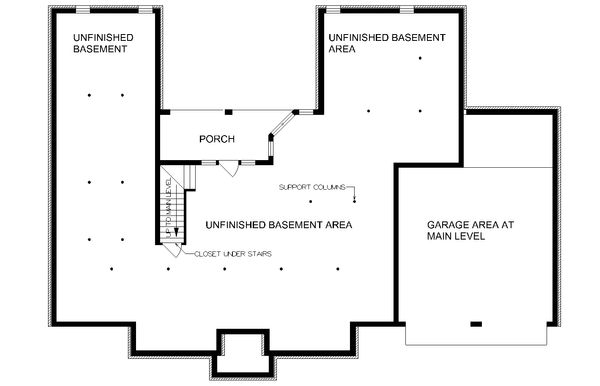 Traditional Floor Plan - Other Floor Plan Plan #45-130