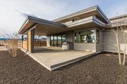 Contemporary Style House Plan - 3 Beds 3.5 Baths 3345 Sq/Ft Plan #892-23