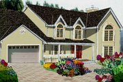 Traditional Style House Plan - 5 Beds 2.5 Baths 2416 Sq/Ft Plan #3-202
