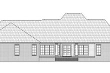 Dream House Plan - Traditional Exterior - Rear Elevation Plan #21-273