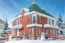 Home Plan - European Exterior - Other Elevation Plan #23-2086