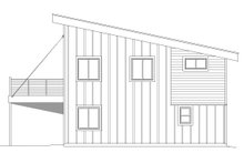 House Plan Design - Contemporary Exterior - Other Elevation Plan #932-181