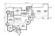 European Style House Plan - 8 Beds 7.5 Baths 5561 Sq/Ft Plan #5-447 Floor Plan - Main Floor Plan