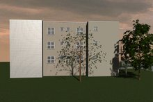 Dream House Plan - Modern Exterior - Other Elevation Plan #535-4