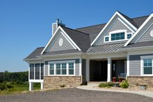 Ranch Exterior - Front Elevation Plan #70-1499