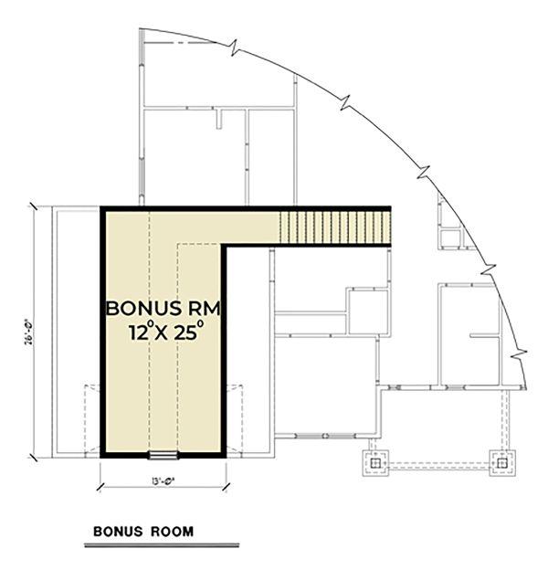 Craftsman Floor Plan - Other Floor Plan Plan #1070-47