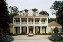 Home Plan Design - Southern Exterior - Front Elevation Plan #45-179