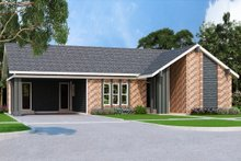 Home Plan - Ranch Exterior - Front Elevation Plan #45-576