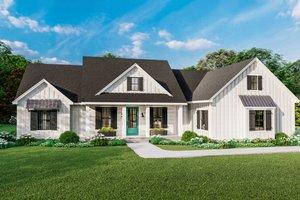 Farmhouse Exterior - Front Elevation Plan #406-9666