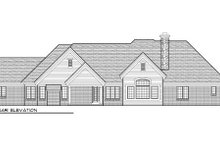 Dream House Plan - European Exterior - Rear Elevation Plan #70-1001