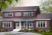 Country Style House Plan - 4 Beds 3 Baths 2261 Sq/Ft Plan #23-2252