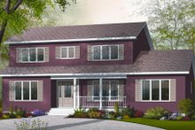 Home Plan - Country Exterior - Front Elevation Plan #23-2252