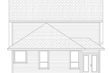 Home Plan - Cottage Exterior - Rear Elevation Plan #84-569