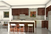Modern Style House Plan - 3 Beds 3 Baths 1900 Sq/Ft Plan #497-58 Interior - Other