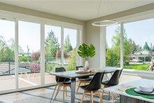 Modern Interior - Dining Room Plan #1066-67